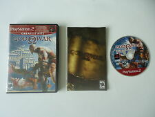 God of War Greatest Hits - Playstation 2 - Complete In Box CIB PS2