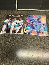 1993 Florida Marlins Official Yearbook & 1994 Inaugural Year Official Yearbook .