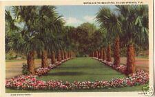 SILVER SPRINGS Florida Entrance ~ LINEN