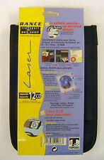 "Topodis ""Dance"" CD Storage Case for Sun Visor up to 12 CD's/DVD's"