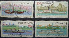 Polen 1979 Mi 2633-2636 - 150 Jahre Dampfschiffahrt auf der Weichsel