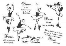 Creative Expressions umount Sellos Postales De Los Bailarines De Ballet Danza Sueño Oprah winfr