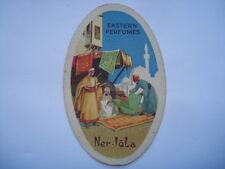 C1920S VINTAGE NER-LOLA EASTERN PERFUMES PERFUME CARD