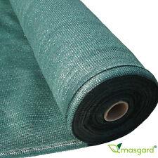 Masgard® Schattiergewebe Sichtschutz 150g/m² Windschutz Zaunblende Schattiernetz
