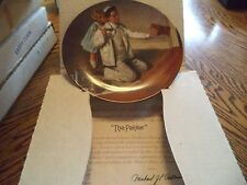 "Vintage Knowles Norman Rockwell ""The Painter"" Collector Plate In Box"