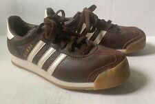 2003 ADIDAS SAMOA BROWN ATHLETIC SHOES, SHW 675001, MENS SIZE US 6, NEW NWOB