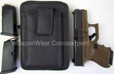 Large Belt Holster Concealed Carry Concealment Gun Pistol Pack Clip