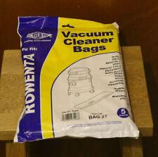 5x ROWENTA Vacuum Cleaner Bags ZR-81 TYPE