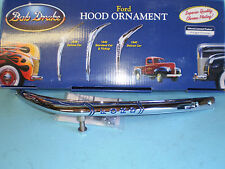 1940 Ford pickup and Commercial  Hood Ornament, and mounting hardware