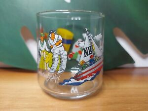 Kraft Vegemite Martyn Bailey collectables glass NZ sports, rare vintage