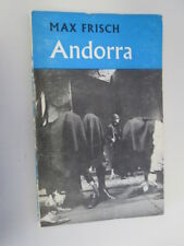 Acceptable - Andorra: A Play in Twelve Scenes (Modern Plays) - Max Frisch, trans