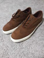 Polo Ralph Lauren Vultan Wingtip Oxfords Shoes New Mens 12 Snuff