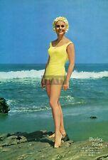 SHIRLEY JONES in Swimsuit Leggy 1964 Vintage Japan Picture Clipping 7x10 ke/r