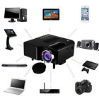 1080P HD Home Multimedia Cinema Theater Mini LED Projector USB AV TV VGA HDMI SD