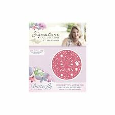Crafter's Companion ~ Lullaby Collection ~ 1 Metal Die ~ Circle 3d butterfly