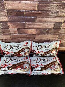 DOVE Silky Smooth Love Notes Caramel Milk Chocolate ValentinesCandy 6.30 oz Bulk