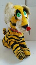 Jeebee creation vintage stuffed plush tiger rare animal