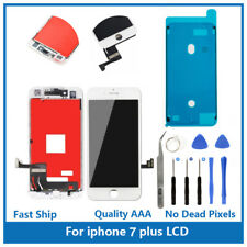 "iPhone 7 Plus 5.5"" Replacement 3D Touch Screen LCD Digitizer Display White Tools"