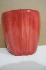 """Formalities By Baum Bros Multi Purpose Red Apple Shaped 4 1/4"""" Tall Bowl"""