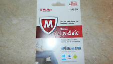 McAfee LiveSafe Data Protection 1 Year Subscription for iOS & Kindle Fire Divice