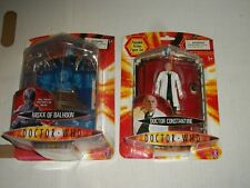 Doctor Who Series 1 MOXX OF BALHOON AND DOCTOR CONSTANTINE Action Figure Set