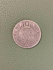 MONNAIE ESPAGNE ISABEL II 4 REALES 1848 EN ARGENT
