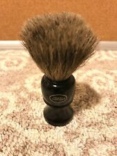 ART OF SHAVING Black Wood Laquer Men's Shaving Brush Pure Badger HAIR Barbers