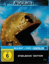 Blu-ray * PIXELS - STEELBOOK EDITION - Kevin James, Adam Sandler # NEU OVP <