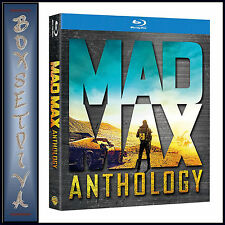 MAD MAX ANTHOLOGY - 1 2 3 4 MOVIES PLUS DOCUMENTARY**BRAND NEW BLU-RAY BOXSET **