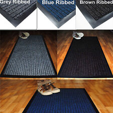 Heavy Duty Non Slip Office Entrance Dirt Barrier Door Mat Rug-Large Medium Small