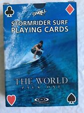 Stormrider Playing Cards Surf Spots World Pack One Edition by O'Neill Surfing