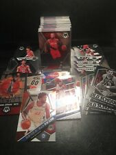 100 Card Lot of 2019-20 Panini Mosaic Basketball (Base, Prizms, & Inserts)