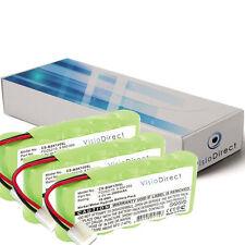 Lot de 3 batteries type 9000163 pour Bosch 2000mAh 6V - Société Française -