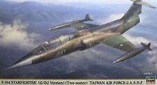1/48 Lockheed F-104 Two Seat G or DJ Starfighter Model Kit by Hasegawa
