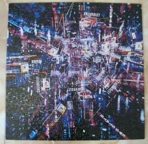Springbok Puzzle Times Square Neon Explosion of New York at Night 450 Pc -1