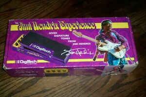 DIGITECH JIMI HENDRIX EXPERIENCE PEDAL AND POWER SUPPLY