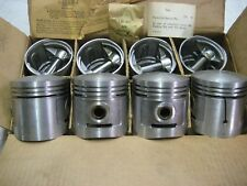 New Sterling Dome pistons 3 1/16 .030 1937-1942 Ford 85HP V-8 Car Truck 3 ring
