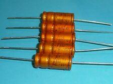 5x Roederstein ROE EGM 1000 uF µF 16V golden Bullet Vintage Audio Grade NOS