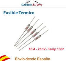 Fusible Termico Temperatura 133ºC 250V 10A Thermal Fuse - Nuevo !!!