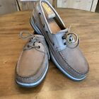 Mens Mephisto Spinnaker Boat Shoes In Beige Size 11 M