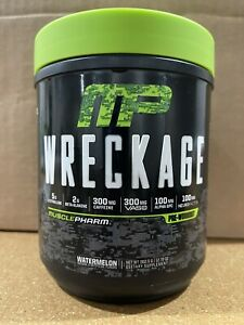 MusclePharm WRECKAGE Pre-Workout Energy Endurance - 25 Servings Watermelon