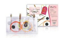 KnitPro Symfonie Wood Interchangeable Starter Set with colour Coded Cables 20604