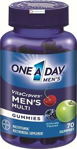 One A Day Men's Vitacraves, 70 Count