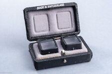 Bolex Parallax Correction Lenses For C8 Cameras 1' & 2' in case