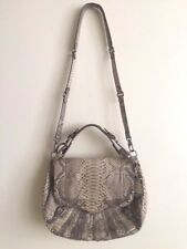 PYTHON LEATHER  SHOULDER BAG BY REBECCA MINKOFF Org. $1,595.00+tax!!