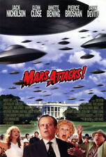 Mars Attacks! (1996) original movie poster advance - single-sided - rolled