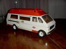 "Vintage 19"" Tonka Transport Rescue Medical Emergency Ambulance Van & Stretcher"