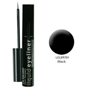 LA COLORS Liquid Eyeliner - Black (6 Pack)