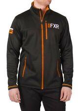 2020 FXR MENS ELEVATION TECH ZIP UP Black/Orange Race Division JACKET Size: XL