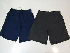 Nike Mens Athletic Shorts Active Mesh Gray Navy Standard Fit Size M L XL 2XL